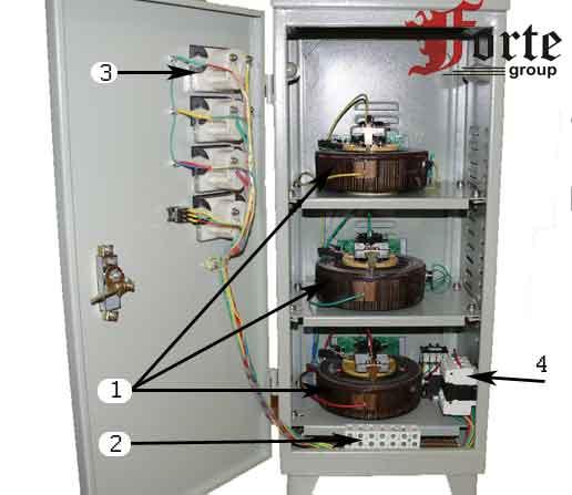 Схема подключения асн