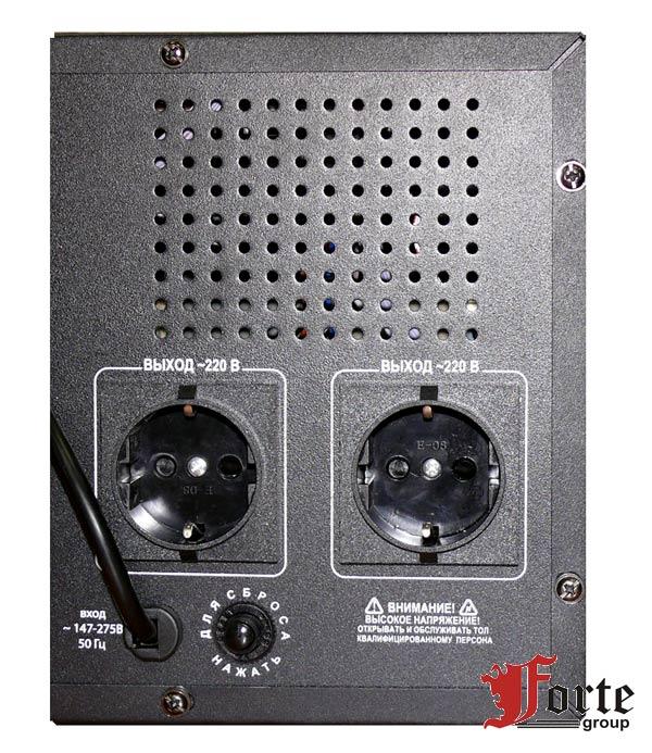 ПН-750Н вид на панель подключения