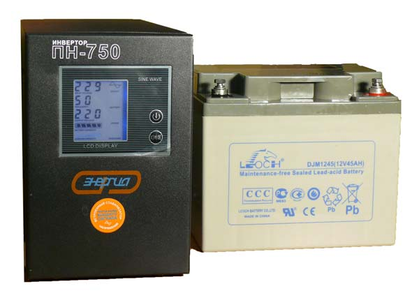 ИБП и аккумулятор