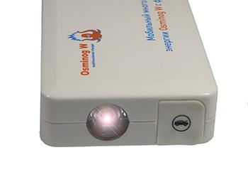 Osminog-W оснащен мощным фонариком